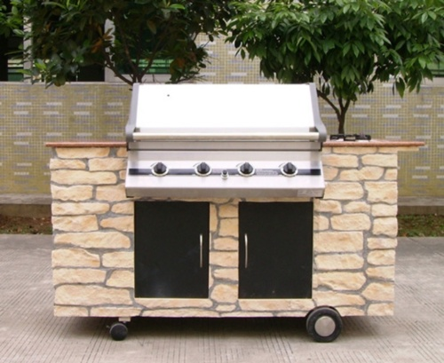 4 Burners Gas Grill