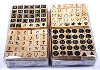 全套字母橡膠章