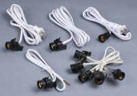E12 Socket With Cord Sets