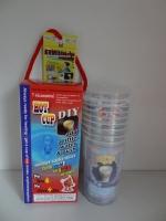 Hot cup--7 per pack (color box)