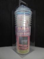 Hot cup--7 per pack (transparent box)