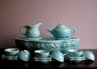 青瓷-17件式茶具組