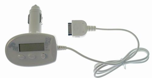 Full channel FM transmitter for iPod