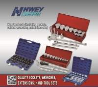 Cens.com Auto repair tool sets, Socket wrench sets HWEY DER INDUSTRIAL CO., LTD.