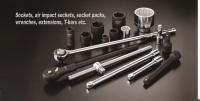 Sockets, Air impact sockets, socket packs, wrenches,extensions, T-bars