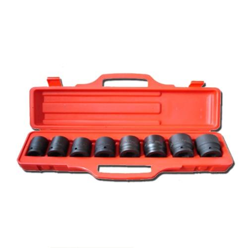 "9-pc 3/4"" Dr. Shallow Impact Socket Set CR-V"