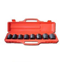 "9-pc 3/4"" Dr. Shallow Impact Socket Set CR-V"