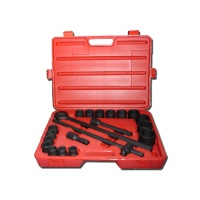 "21-pc 3/4"" Dr. Socket Set CR-V  (6-point model, SAE approved)"