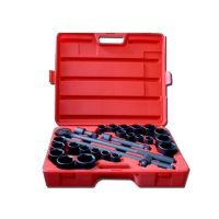 """27-pc 3/4"""" Dr. Impact Socket CR-V (6-point model, SAE approved, metric combination)"""
