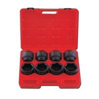 "8-pc 3/4"" Dr. HI-VIZ Impact Add-on Socket CR-MO (SAE approved)"