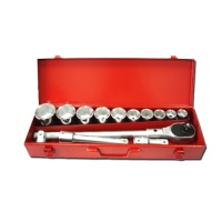 "15-pc 3/4"" Dr. Socket Set CR-V (6-point model, metric combination)"