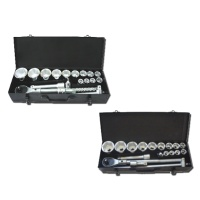 "19-pc 3/4"" Dr. Socket & Wrench Set"