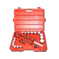 "21-pc 3/4"" Dr. Socket Wrench Set CR-V (6-point model, SAE approved)"