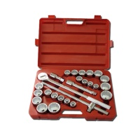 "26-pc 3/4"" Dr. Socket Set CR-V (12-point model, metric combination, SAE approved)"