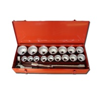 "22-pc 1"" Dr. Socket Set 45C"