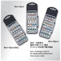 Color-coded Bits in Transparent Box