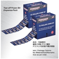 Tear-off Power Bit Dispensa-Pack