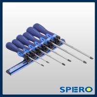 6PC Twistop Scredriver Magnetic Rail Set