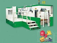 Foil stamping, embossing and Die-cutting machine