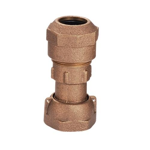 青銅輸送水用件附螺帽