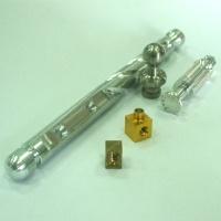Custom-made precision CNC components