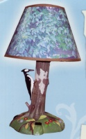 Woodpecker animated lamp