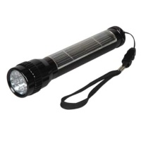 LED Aluminium Solar Flashlight