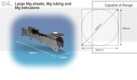 Large Mg Sheets, Mg Tubing and Mg Extrusions