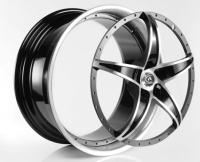 汽車輪圈, 2片式