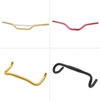 HANDLEBARS FOR BICYCLE AND MOTOCYCLE: ROAD BAR/TT BAR/RISER BAR/FLAT BAR
