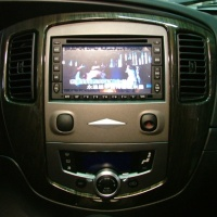 """6.5"""" Standard 2-Din Slot-In LCD Monitor with DVD Player"""