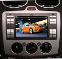 """6.5"""" 2-Din LCD Monitor with DVD Player for FOCUS"""