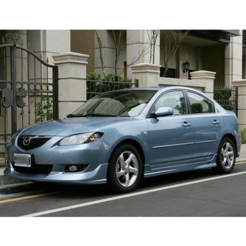 Mazda3專用全空力套件