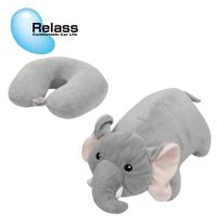 兩用頸枕-大象