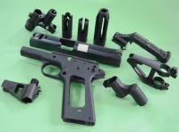 Investment-Cast Toy Gun Accessories