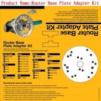 Router Base Plate Adapter Kit