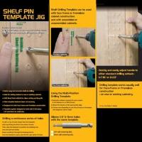 Shelf Pin Template Jig