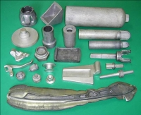 Forging light metallic parts & accessories