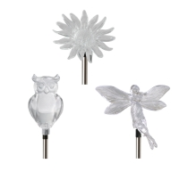 Clear Stake Solar Light