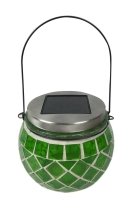 Mosaic Jar Solar Light