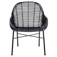 K/D SOGOD WICKER LOUNGE CHAIRS