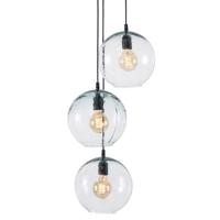 GENOVA RECYCLE GLASS HANGING LAMPS,3 lites