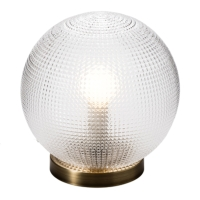 DIAMOND GLASS TABLE LAMPS