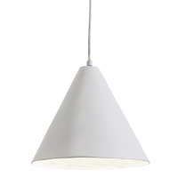 WHITE PLASTER PENDANTS
