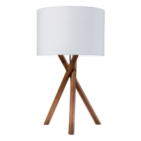 TRIPOD WOODEN LEGS TABLE LAMPS