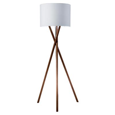 TRIPOD WOODEN LEGS FLOOR LAMPS