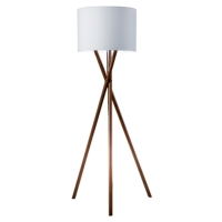 TRIPOD WOODEN LEGS FLOOR LAMPS
