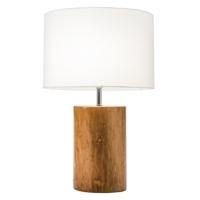 MAHOGANY WOODEN LAMPS