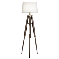 MARINER WOODEN TRIPOD FLOOR LAMPS