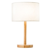 WOODEN TABLE LAMPS